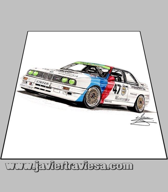 Camiseta Mujer BMW E-30 M3 DTM