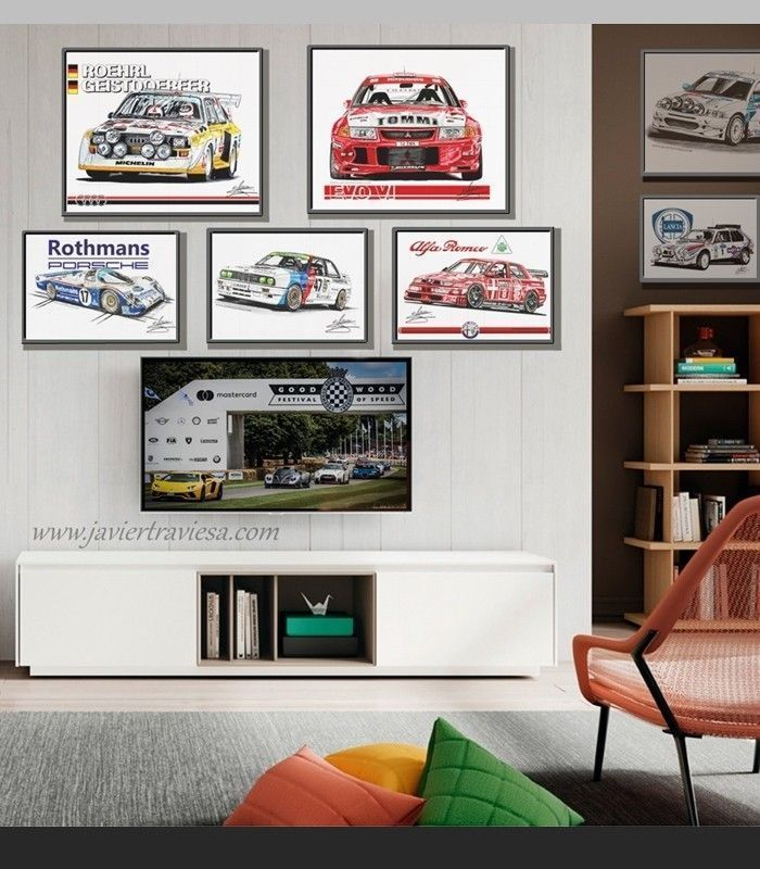 los mejores dibujos de coches by Javier Traviesa