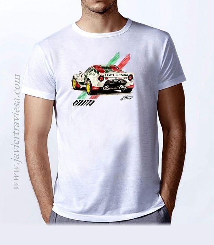 Camiseta unisex LANCIA STRATOS ALITALIA