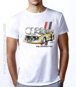 Camiseta Unisex AUDI-SPORT CUATRO S1 GRUPO B