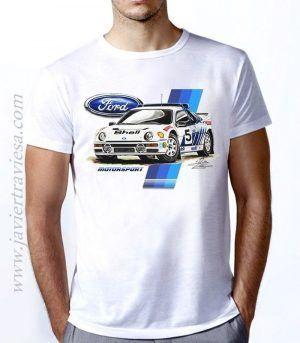 Camiseta Unisex FORD RS200 GRUPO B