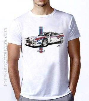 Camiseta unisex LANCIA 037 MARTINI RACING GRUPO B