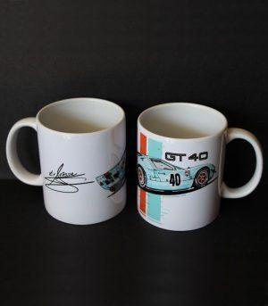 TAZA FORD GT40 GULF LE MANS