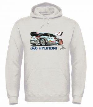 SUDADERA HYUNDAI i20 WRC