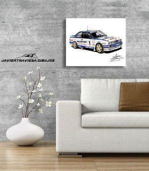 POSTER BMW M3 PEP BASSAS