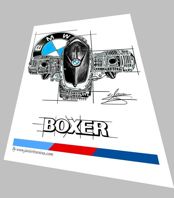 POSTER BMW BOXER