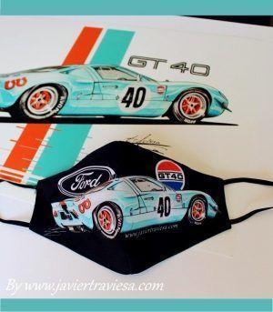 MASCARILLA NW FORD GT40