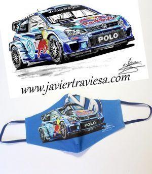 MASCARILLA NW VOLKSWAGEN POLO WRC