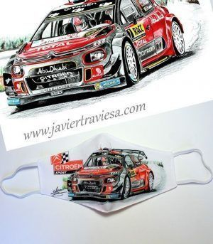 MASCARILLA NW CITROEN C3 WRC