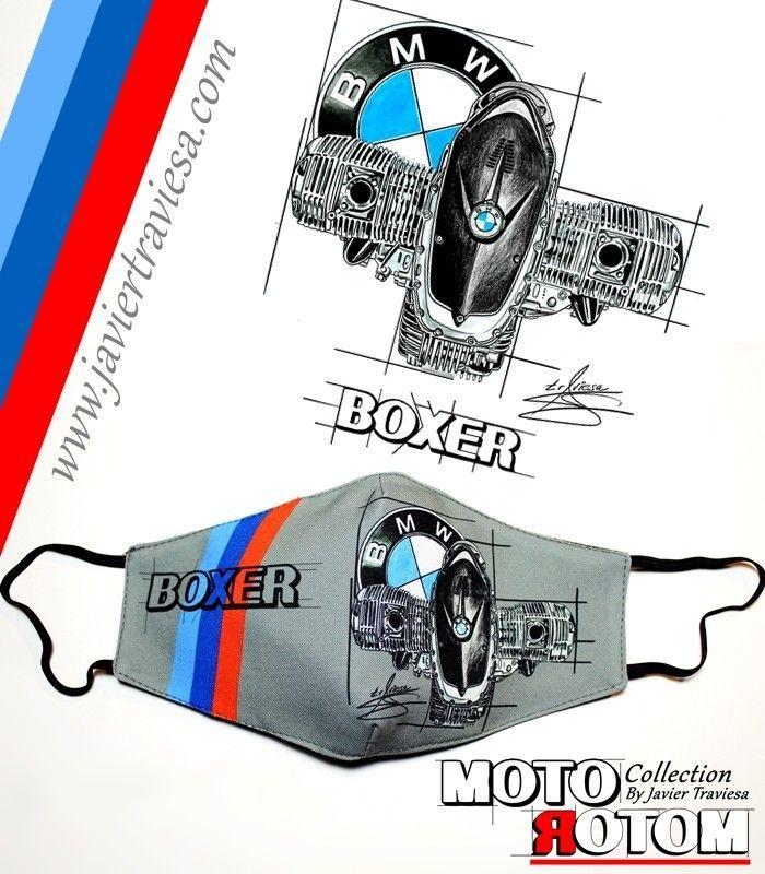 MASCARILLA NW MOTOR BMW BOXER