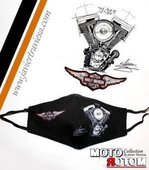 MASCARILLA NW MOTOR HARLEY DAVIDSON