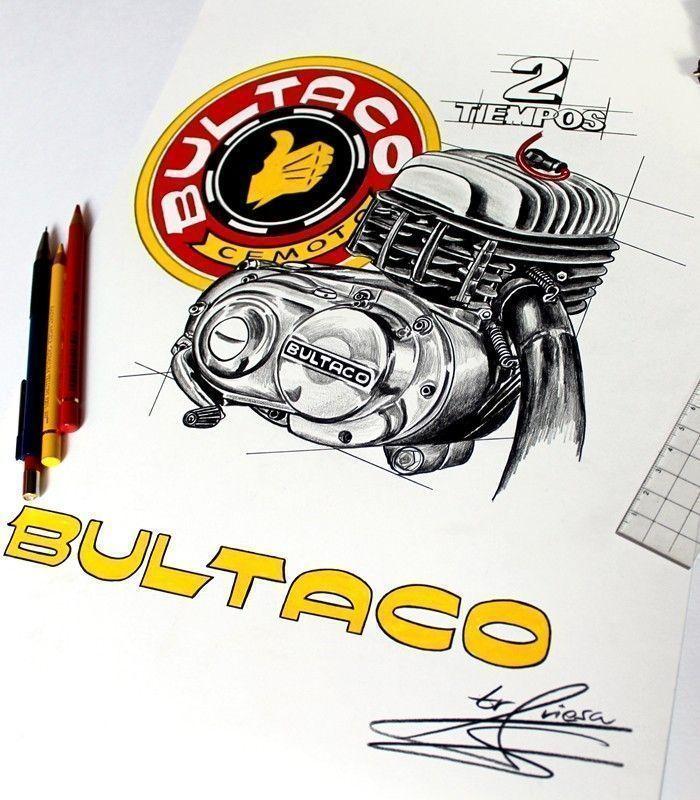 SUDADERA MOTO BULTACO BLACK