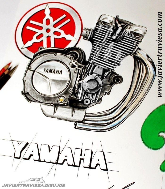CAMISETA YAMAHA BLACK